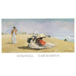East Hampton Beach by Winslow Homer - print