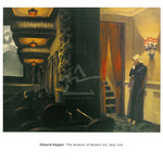 New York Movie by Edward Hopper - print