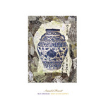 Blue Ginger Jar by Annabel Hewitt - print