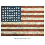 Flag, 1954 by Jasper Johns - print