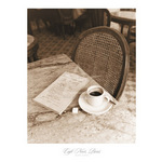 Cafe Noir, Paris by Alan Klug - framed art prints and framed pictures