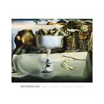 Apparition of Face and Fruit Dish on a Beach by Salvador Dali - print