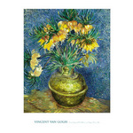 Crown Imperial Fritillaries in a Copper Vase, 1886 by Vincent Van Gogh - print