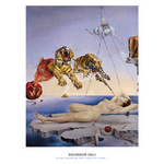 Sting Caused by the Flight of a Bee... by Salvador Dali - print