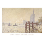 The Thames below Westminster by Claude Monet - print