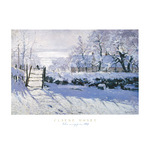 The Magpie by Claude Monet - print