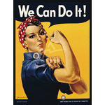 We Can Do It! by J.H. Miller - print