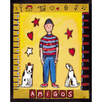 Amigos by L. Mason - framed art prints and framed pictures