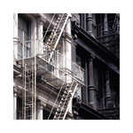 Fire Escape by Metro Series - print