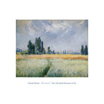 Wheatfield, 1881 by Claude Monet - print