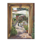 Courtyard Passage by William Mangum - framed art prints and framed pictures