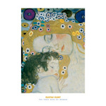 The Three Ages of Woman (detail) by Gustav Klimt - framed art prints and framed pictures