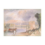 Bridge of Meulan by Joseph Mallord William Turner - framed art prints and framed pictures