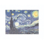 The Starry Night by Vincent Van Gogh - print