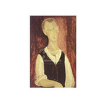 Young Man with a Black Waistcoat, 1912 by Amedeo Modigliani - print