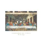 The Last Supper by Leonardo Da Vinci - print