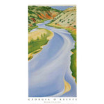 Blue River by Georgia O'Keeffe - print