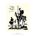 Don Quixote by Pablo Picasso - framed art prints and framed pictures