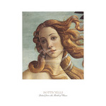 Detail: The Birth of Venus by Sandro Botticelli - print