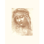 St. Anne (serigraph and embossed) by Leonardo Da Vinci - print