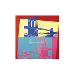 Brooklyn Bridge, 1983 by Andy Warhol - framed art prints and framed pictures