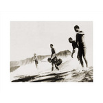 Tom &amp;amp; Crew, Diamond Head by Tom Blake - print