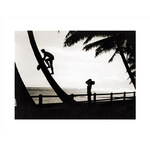 Hawaiian Silhouette, 1931 by Tom Blake - print