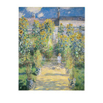 Artist's Garden at Vetheuil by Claude Monet - framed art prints and framed pictures