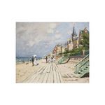 Beach at Trouville, 1870 by Claude Monet - print