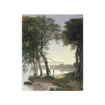 Early Morning at Cold Spring, 1850 by Asher B. Durand - print