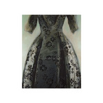 Black Balenciaga Dress by Richard Nott - print