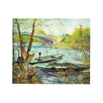 A Fisherman in His Boat by Vincent Van Gogh - print