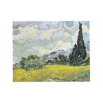 A Wheatfield with Cypresses by Vincent Van Gogh - print