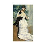 Dance in the City, 1883 by Pierre Auguste Renoir - print