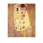 The Kiss by Gustav Klimt - print