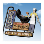 Dad's Southern Style Bar-B-Q by Anthony Ross - print