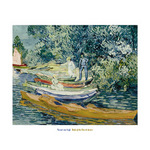 Bank of the Oise at Auvers, 1890 by Vincent Van Gogh - print