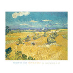 The Wheat Field, 1888 by Vincent Van Gogh - print