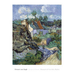 Houses at Auvers by Vincent Van Gogh - print