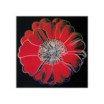 Flower for Tacoma Dome, c. 1982 (black &amp;amp; red) by Andy Warhol - print