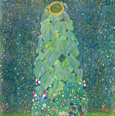 Fine Art Print of The Sunflower, c. 1906-1907 by Gustav Klimt
