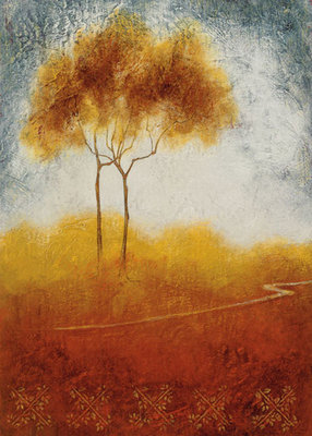 Fine Art Print of Distant View I by Susan Osbjorn