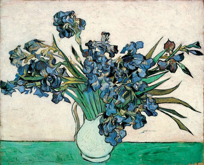 Irises Poster Art Print by Vincent Van Gogh