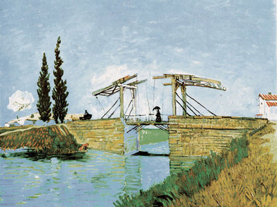 Bridge Poster Art Print by Vincent Van Gogh