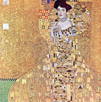Portrait of Adele Bloch-Bauer I, 1907 Poster Art Print by Gustav Klimt