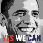 Fine Art Print of Barack Obama: Yes We Can by Celebrity Photo