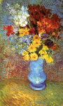 Vase With Anemone Poster Art Print by Claude Monet