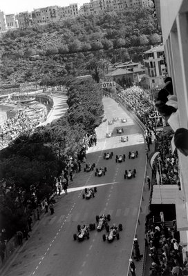 Fine Art Print of 1964 Monaco Grand Prix. Monte Carlo, Monaco. 7-10 May 1964 by Anonymous