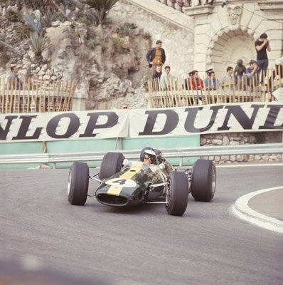 Fine Art Print of 1966 Monaco Grand Prix. Monte Carlo, Monaco. 19-22 May 1966 by Anonymous