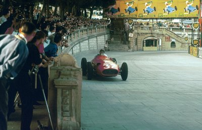 Fine Art Print of 1957 Monaco Grand Prix. Monte Carlo, Monaco by Anonymous